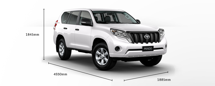 toyota land cruiser prado model car (2)