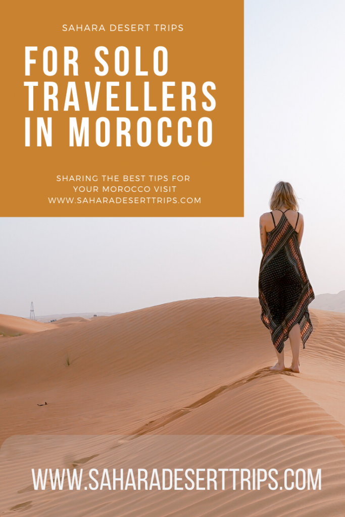 Travelling Morocco as a Solo traveler Female