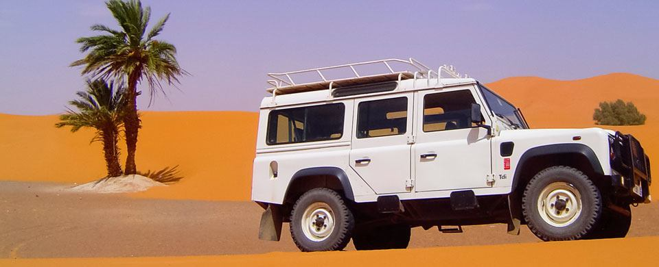 Sahara Desert Excursions by 4x4