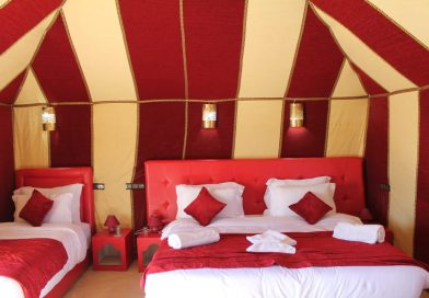 sahara desert camping - luxury camp in morocco