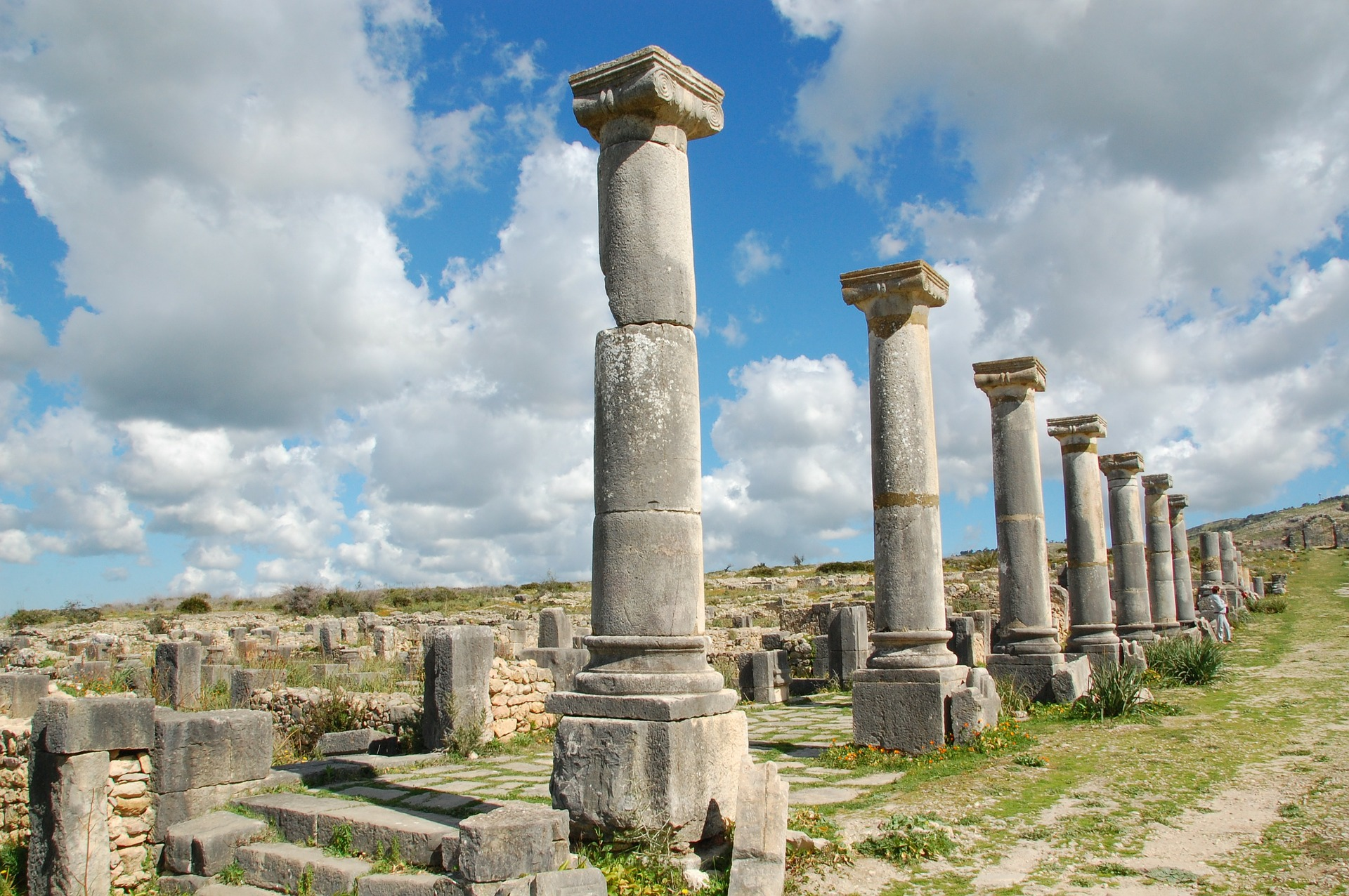 The Roman ruins from Tanger