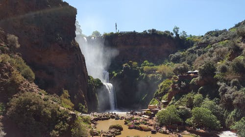 Morocco private tours OUZOUD WATERFALLS