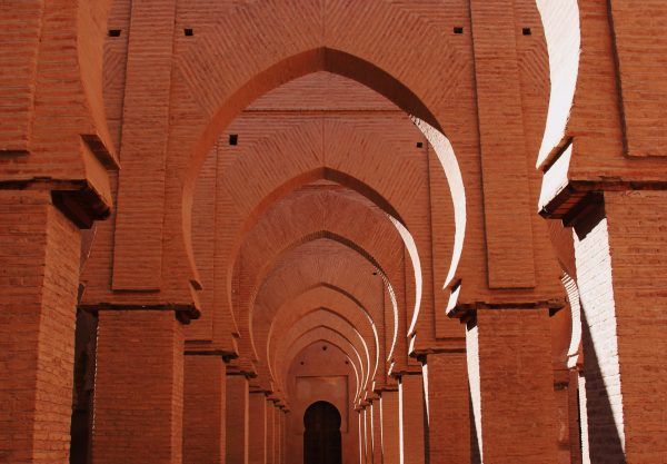 All the doors and archs lead to Morocco Sahara desert Trips