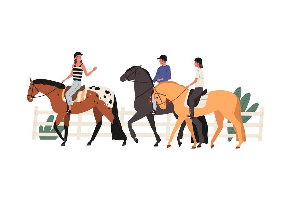 Agafay desert activities - Horseback riding in Morocco - Sahara desert Trips