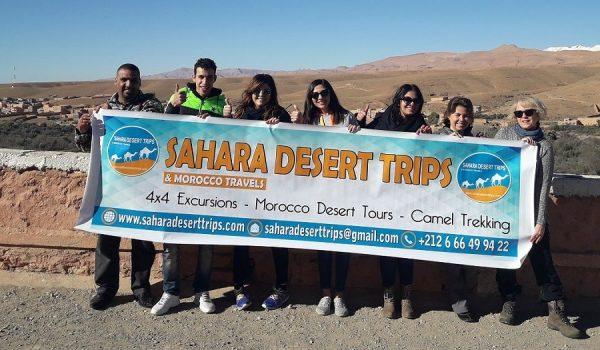 sahara desert trip tour visit Morocco tours in group